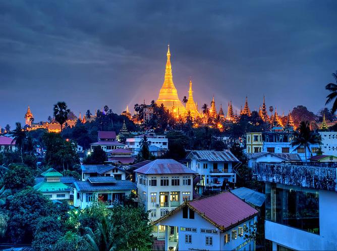 2019年缅甸水展-出团日志